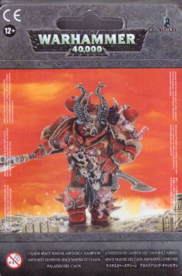 Games Workshop Warhammer 40000 40K Chaos Space Marine Aspiring Champion 43-08